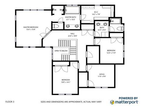 Create A Floor Plan matterport floor plans rendering real premium property
