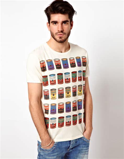 Tshirtt Shirtt Shirt Macbeth 1 lyst pepe andy warhol tshirt multi cbells soup print in white for