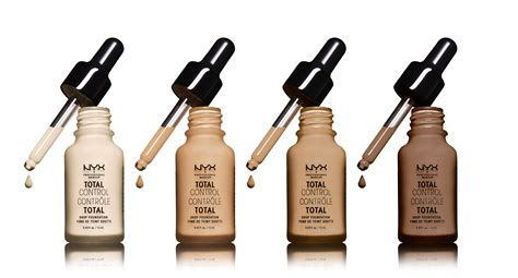 Nyx Total Drop the new nyx total drop foundation lets you decide
