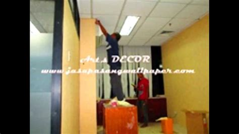 Wallpaper Dinding 56 pemasangan wallpaper dinding s decor