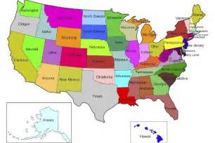 United States Map With States State Tax Information Military Com