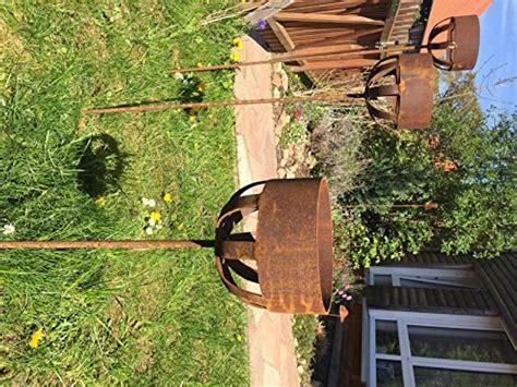 kerzenhalter outdoor preisvergleich kerzenhalter 122cm rost deko outdoor