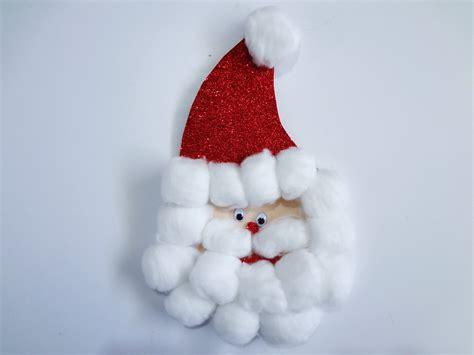 imagenes animadas de navidad en foami manualidad para navidad quot santa de fomi quot youtube