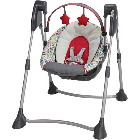 graco swing green graco swing by me baby swing go green walmart com