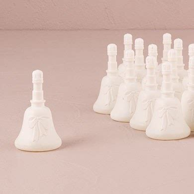 Wedding Bell Favours by Wedding Bell Bubbles Confetti Co Uk
