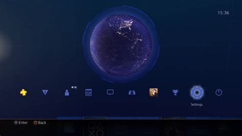 ps4 themes space ps4 gets awesome themes showing earth from space with real