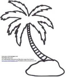palm tree coloring picture palm tree coloring pages tree coloring pages nature