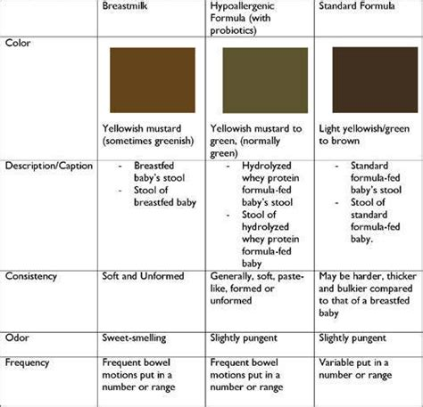 Adults Stool Color Chart by Normal Bowel Movement Www Pixshark Images