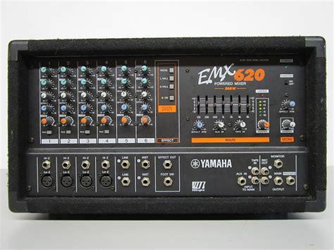Power Mixer Yamaha 6 Chanel yamaha emx 620 6 channel powered mixer 200 watts reverb