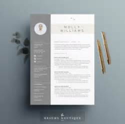 Resume Design Templates Downloadable by Resume Template 4 Page Cv Template Cover Letter For Ms