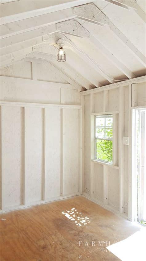 bright  light  shed makeover shed makeover shed