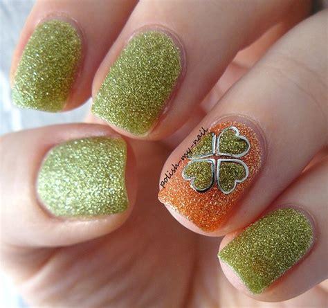 Nail Dazzling Leaf 30 four leaf clover nail ideas nenuno creative