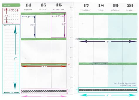lorries story happy planner dimensions