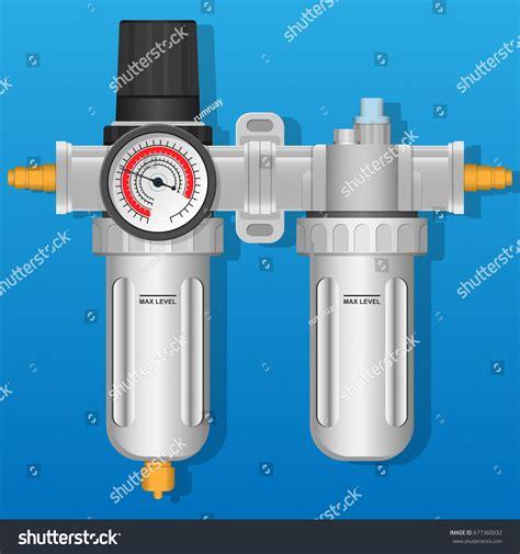 Promo Spesial Air Filter Regulator Kompresor Water Trap Kompresor air regulator filter water trap lubricator stock vector 677360032