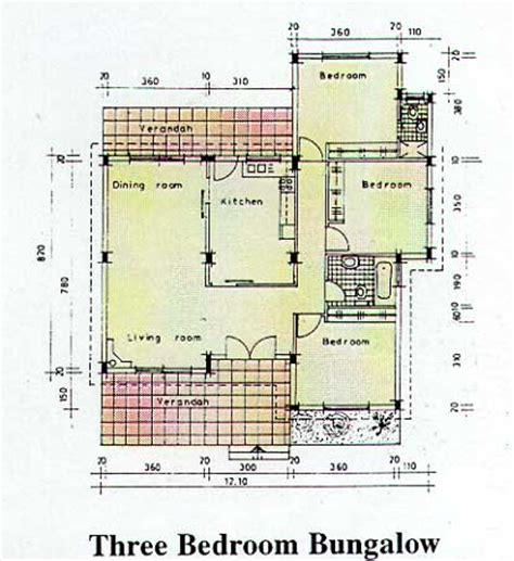 3 Bedroom Bungalow Layout Finekaria Lakeside Gardens New Properties In Limassol
