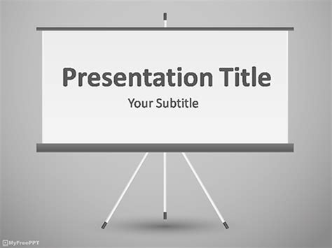 Free Presentation Powerpoint Templates Myfreeppt Com Board Powerpoint Template
