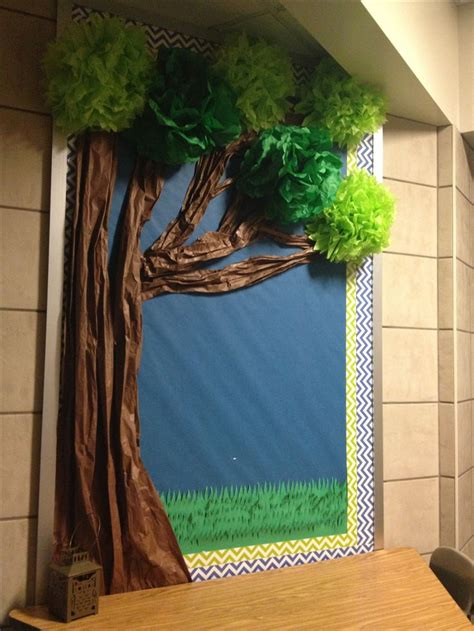 How To Make A Bush Out Of Paper - 1000 ideas about tree bulletin boards on