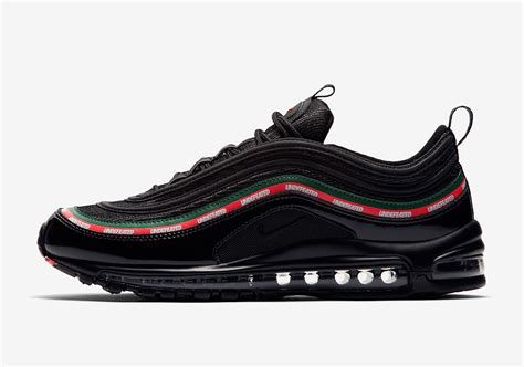 Nike Undefeated undefeated nike air max 97 black official images aj1986 001 sneakernews