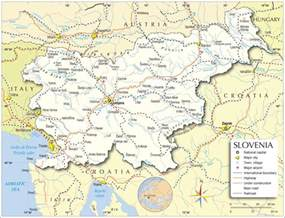 Where Is Slovenia On The World Map by Slovenia Map Map Of Slovenia Slovenia Map In English