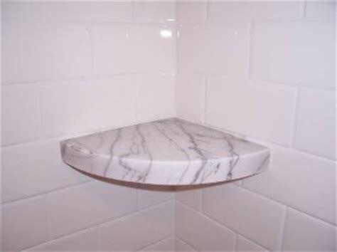 Marble Shower Shelf by 3cm 8 Quot White Carrara Marble Shower Corner Shelf Sundance Tile And Inc