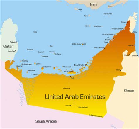 middle east map united arab emirates united arab emirates map middle east