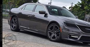 Chrysler 300 Concept 2018 Chrysler 300 May Well Proceed To Customized Stage