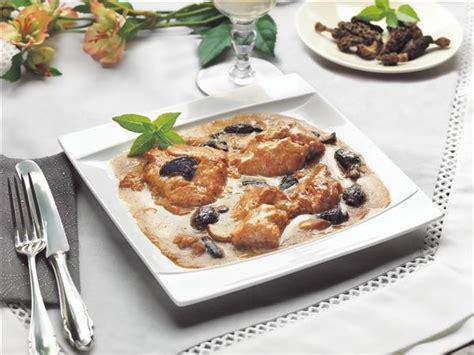 cuisine ris de veau ris de veau aux morilles 380g cuisine raffin 233 e maison