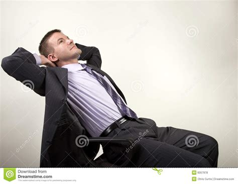 man reclining business man reclining royalty free stock photos image