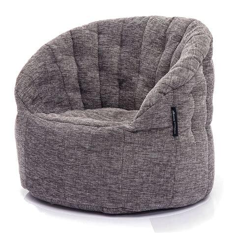 metallic silver bean bags interior bean bags chair butterfly sofa grey