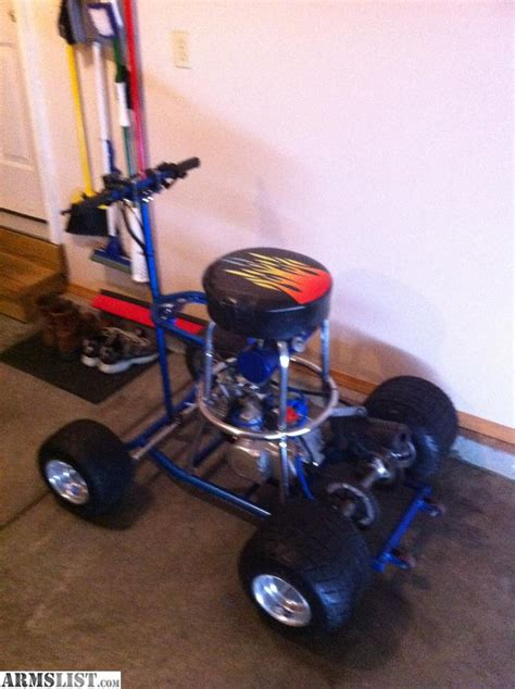 Bar Stool Cart For Sale by Armslist For Sale Trade Bar Stool Go Cart 110cc Motor