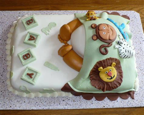 Animal Baby Shower Cakes by Sugar Lump Cakes Animal Cakes