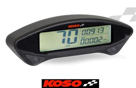 Mini Cockpit Motorrad by Koso Db Ex 02 Motorcycle Speedo Enduro Digital Instrument
