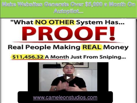 Real Online Money Making - make real money online google sniper