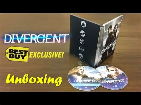 Steelbook Divergent Best Buy divergent best buy exclusive steelbook unboxing