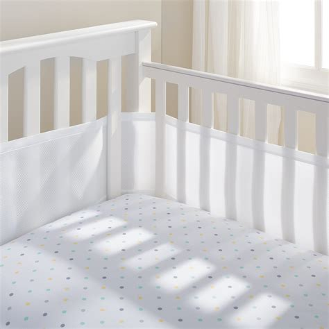 breathablebaby 174 classic mesh crib liners breathablebaby