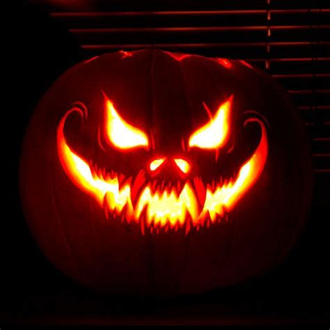 scary pumpkin faces for best 25 scary pumpkins ideas on