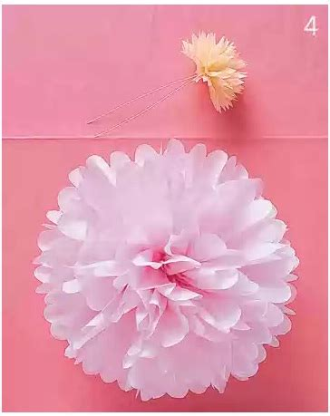 How To Make Tissue Paper Flower Balls - absolute perfection weddings tissue paper flower balls