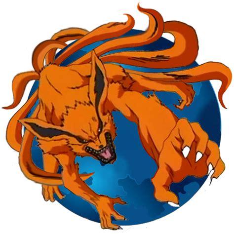 Mozilla Kurama kyubi firefox by wildoverdose on deviantart