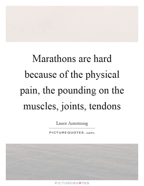 Nyc Marathon Was The Hardest Physical Thing Lance Armstrong Did by Marathons Are Because Of The Physical The