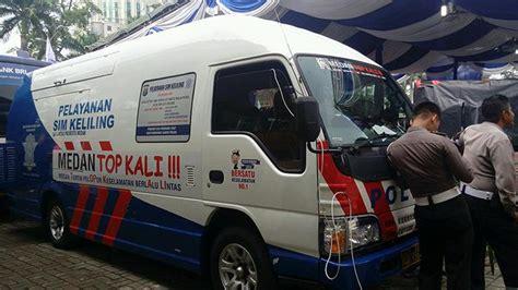 membuat sim di kota lain tiga bus sim online keliling bakal layani warga kota medan