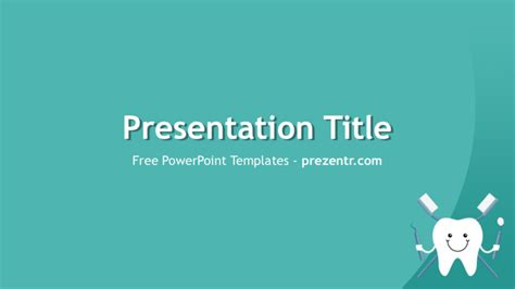 Free Dental Care Powerpoint Template For Download Prezentr Free Animated Dental Powerpoint Templates