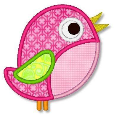 free applique downloads bird applique 4x4 5x7 6x10 machine embroidery design