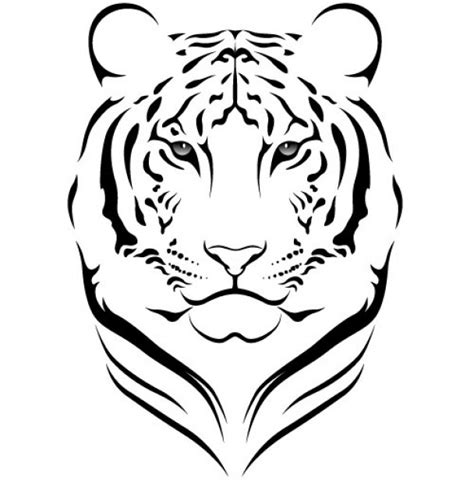 imagenes zen vectorizadas tiger photo vector graphics pinterest tribales