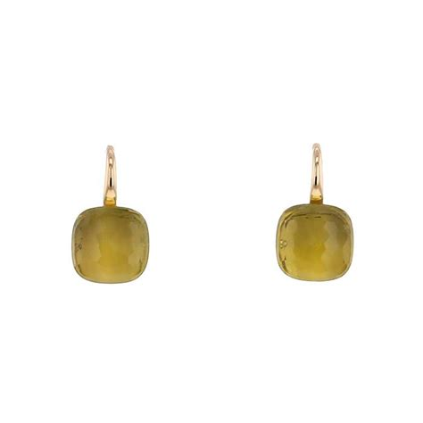 pomellato nudo earrings pomellato nudo earring 352430 collector square