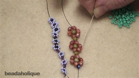 how to do beading how to bead weave a chain