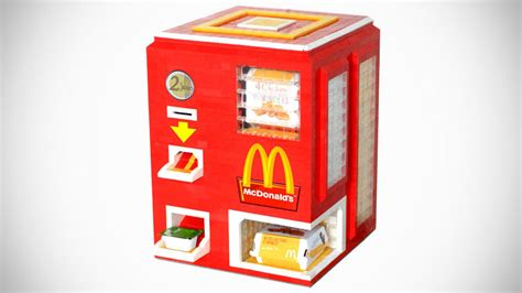Mesin Kasir Kfc foodie gadgets diy lego vending machine the gastronomy
