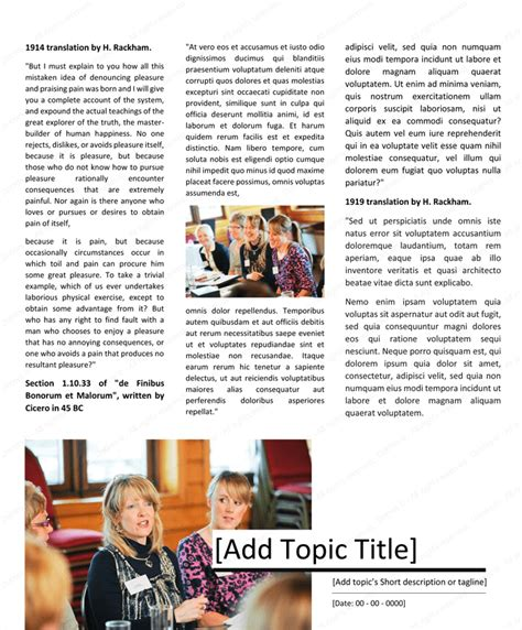 magazine template microsoft word download magazine template for microsoft 174 word dotxes