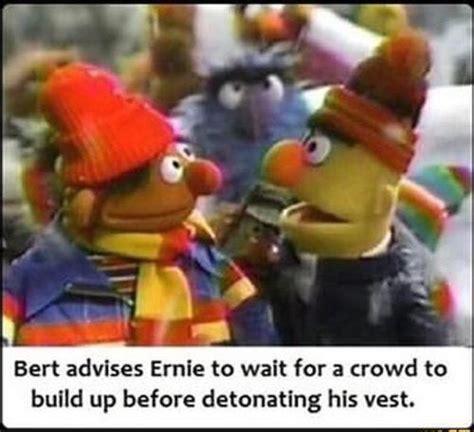 Sesame Street Bernie Face Meme
