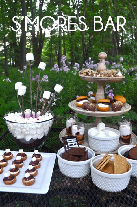 Graduation Backyard Party Ideas - 20 fun food bars to recreate at home