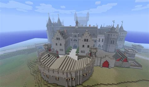 Floor Plans Of Castles by A Kings Castle Minecraft Building Inc